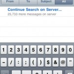 iphone 3.0 email search
