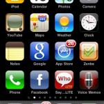 iphone 3.0 home screen